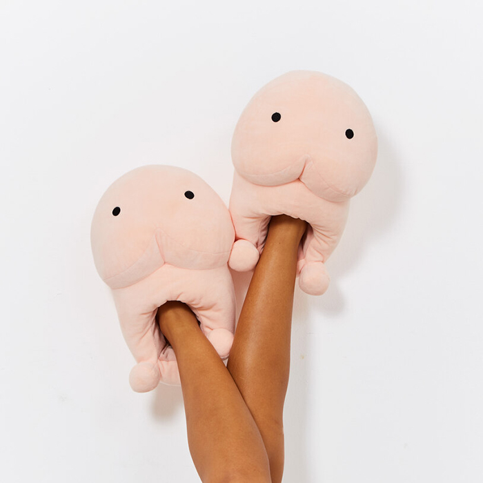 A-Pair-of-Penis-inspired-Slippers