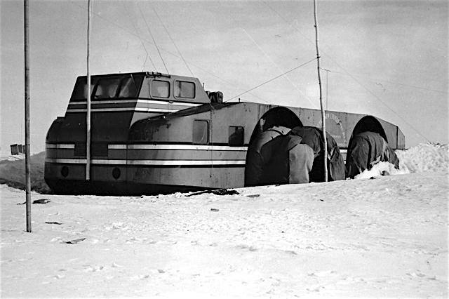 The Misplaced Antarctic Snow Cruiser  AMERICAN DIGEST
