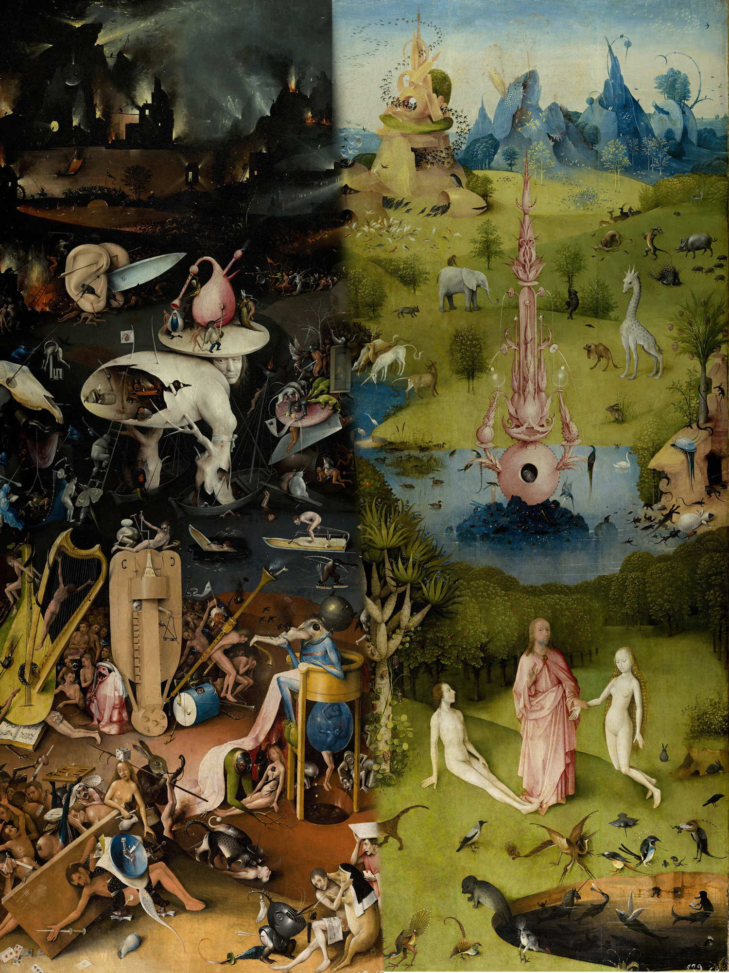 An Icon of the Times: The Garden of Earthly Delights Without the ...