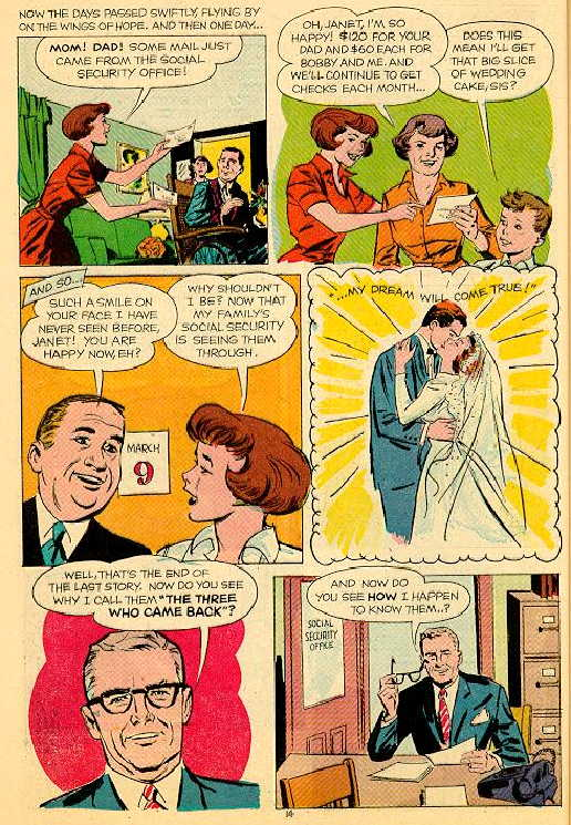 Golden Age Government Comic Books Social Security