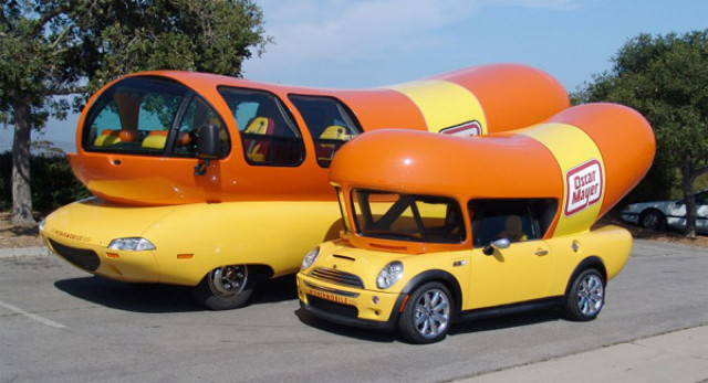 15 awesome customized car on oscar meyer weiner truck