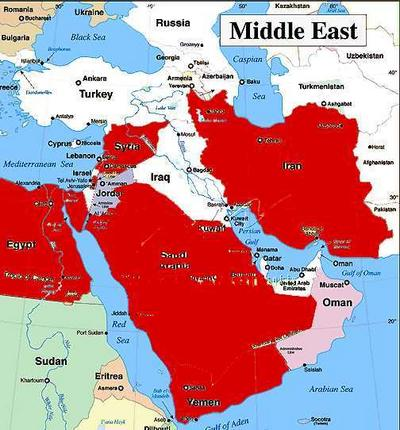 Redrawing the MiddleEast Map 20002004 AMERICAN DIGEST