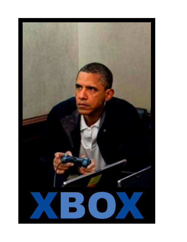 All thumbsObama Playing Xbox