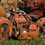 A Hard Harley Tale About a Hardtail Harley  by Ghostsniper
