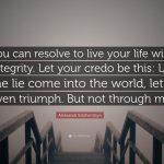 """""""Live Not By Lies"""" -- Alexander Solzhenitsyn"""
