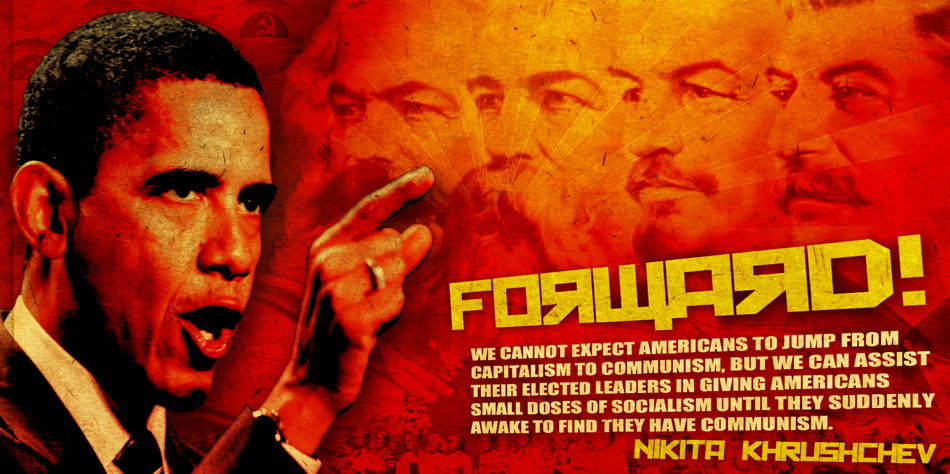 """How Obama became the first communist president"" -- Don Surber Explains It All to You"