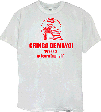 GRINGO DE MAYO!: A Counter-Celebration for May 7