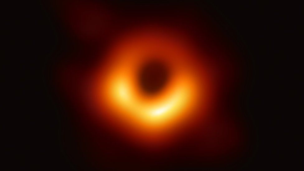 """Dark Matter: """"Locking down an image of M87's supermassive black hole at such distance is comparable to photographing a pebble on the Moon."""""""