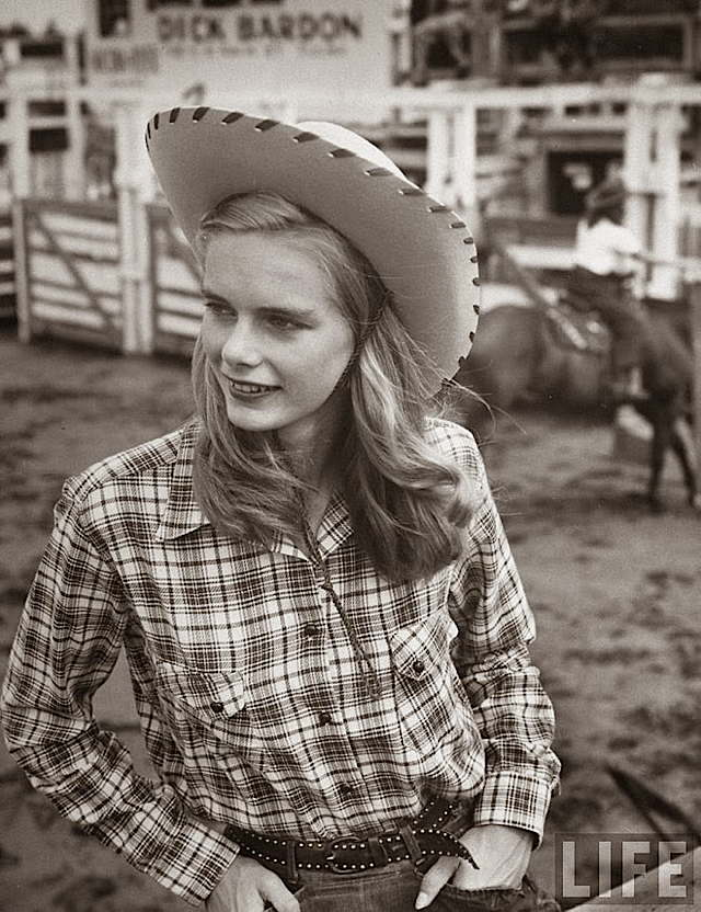 Hello Cowgirl In the Sand