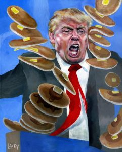 """Yes, DemoProgs Really Are This Crazy: Trump's Now a """"Pancake Thief"""" ... Who Pockets Them!"""
