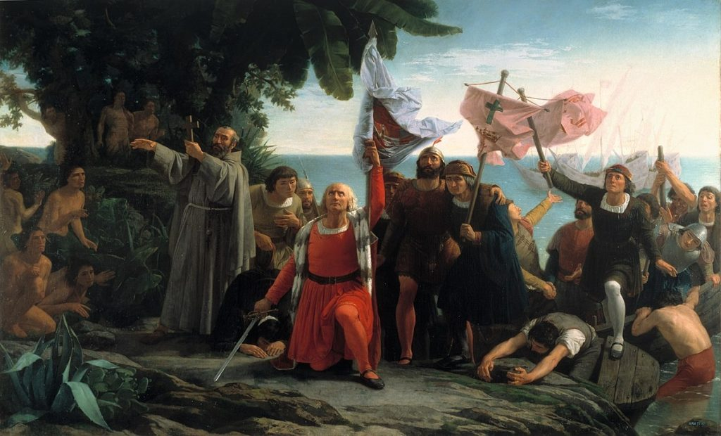 "Columbus Day: Not about Columbus, not about the indians (aka ""indigenous people who walked here and then started killing each other"")"