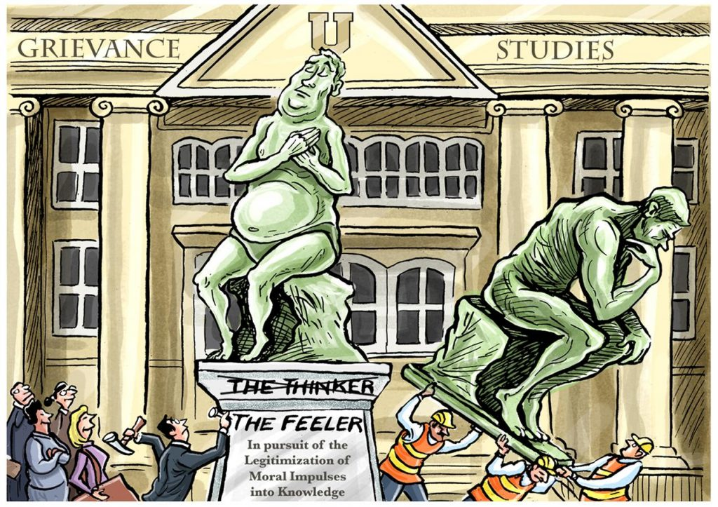 Idea Laundering By Peter Boghossian (Via The Wall Street Journal)