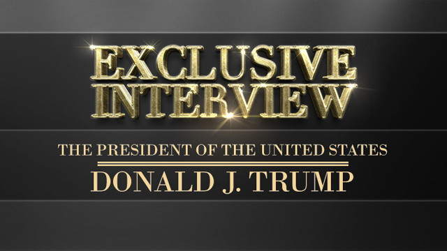 America's Anchorman Interviews President Trump