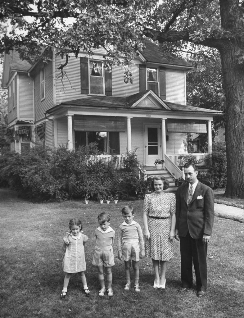 Never Again: Inside the life of a traditional American mother, 1941