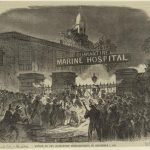 The Burning of the New York Marine Hospital