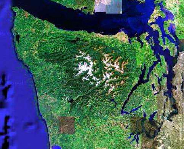 The Olympic Peninsula at the Vernal Equinox  [2014]