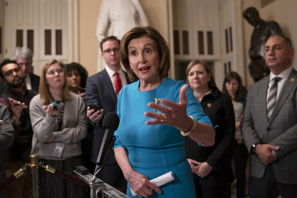 To aid coronavirus testing, Nancy Pelosi asks all Americans to send a stool sample to her office