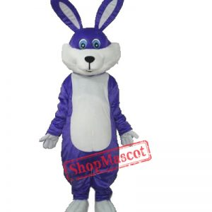 Here comes Purple Peter Cottontail...