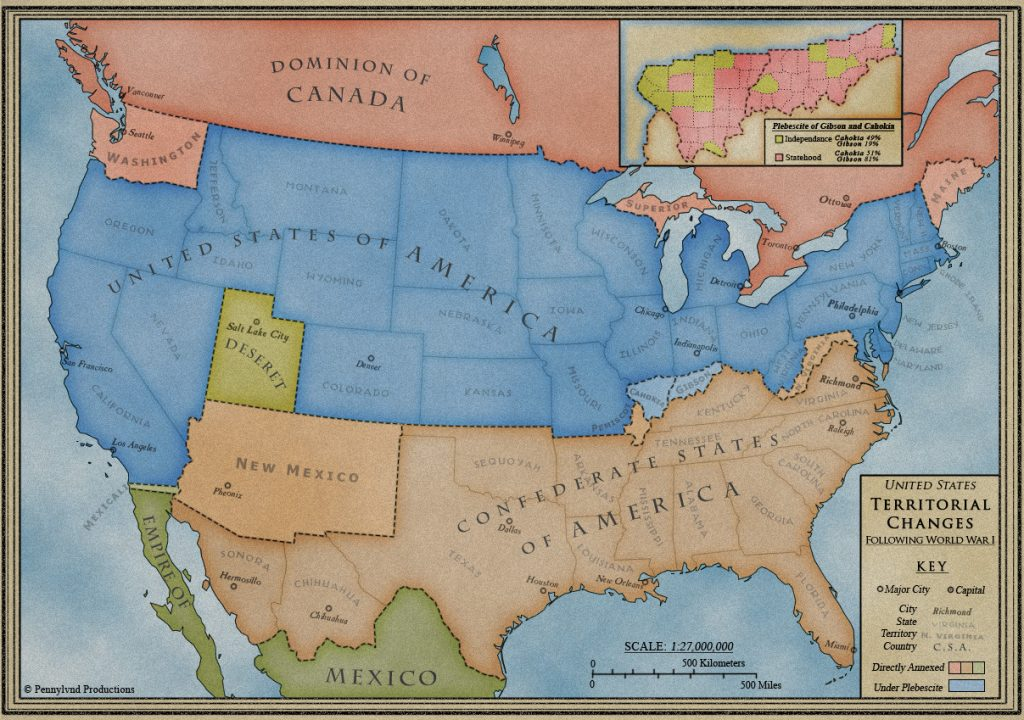 The Confederate States of America? Not So Fast by Hale Adams