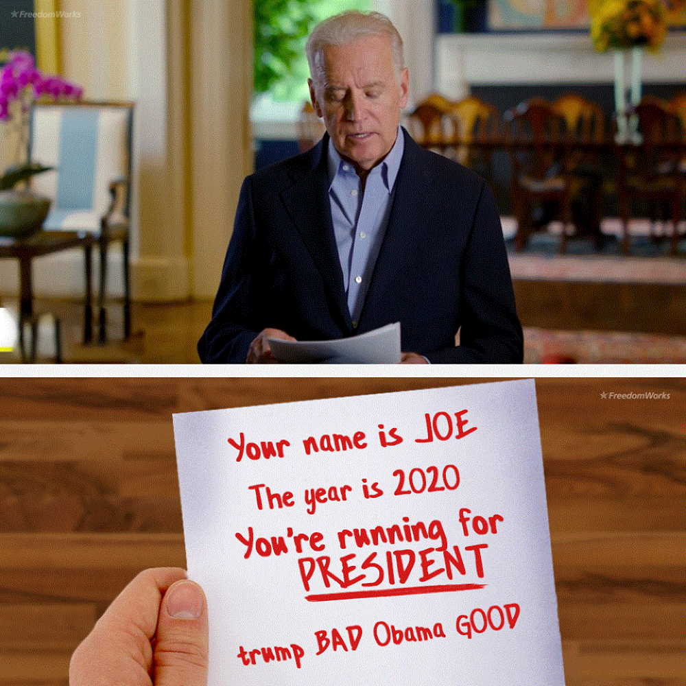 Deep-Diving Into a New Aneurysm: Tonight, Biden needs to take one for the team.