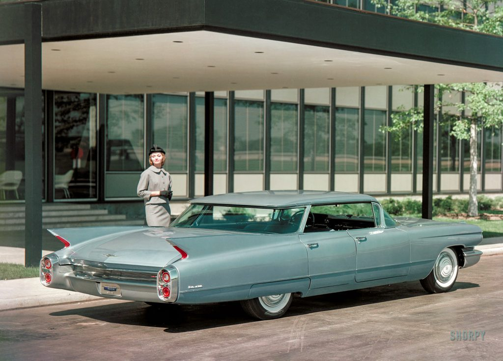 Never Again: Nineteen-Sixty Cadillac 6339 four-window Sedan de Ville at the GM Technical Center
