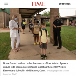 Noted in Passing: Back to School with Officer Friendly and Nurse Ratched
