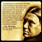 Noted in Passing: The Prophecies of H. L. Mencken