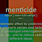 Menticide  -- Illustrated and Animated