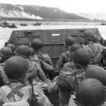 June 6: A walk across a beach in Normandy