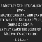 Beyond Macavity: Cat Tales by AD Readers